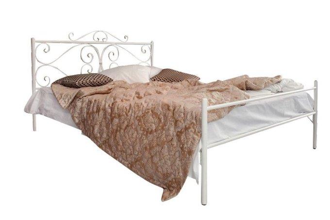 Кованая кровать Валенсия 1.4 с одной спинкой