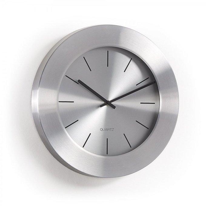 Часы настенные Meyers из металла серебристого цвета