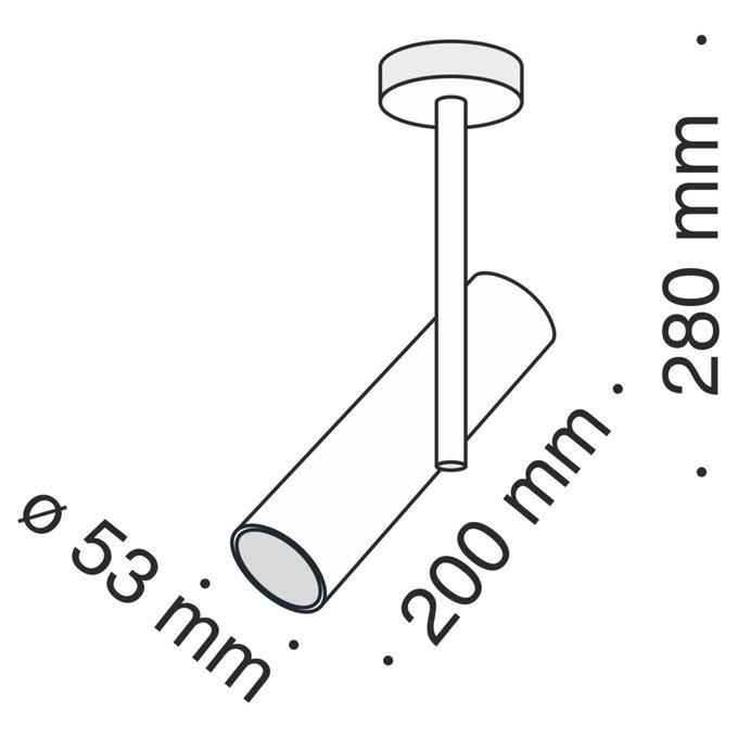 Потолочный светильник Elti белого цвета