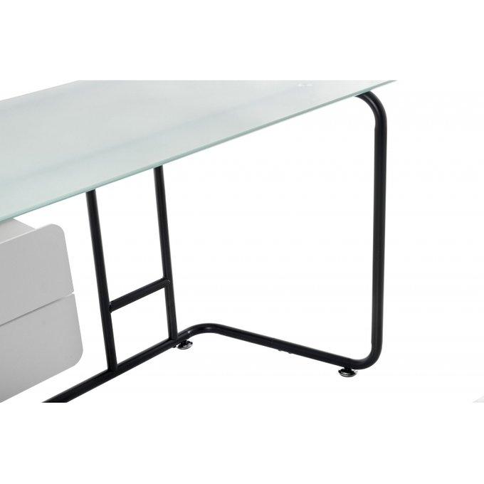 Компьютерный стол Desk с двумя ящиками