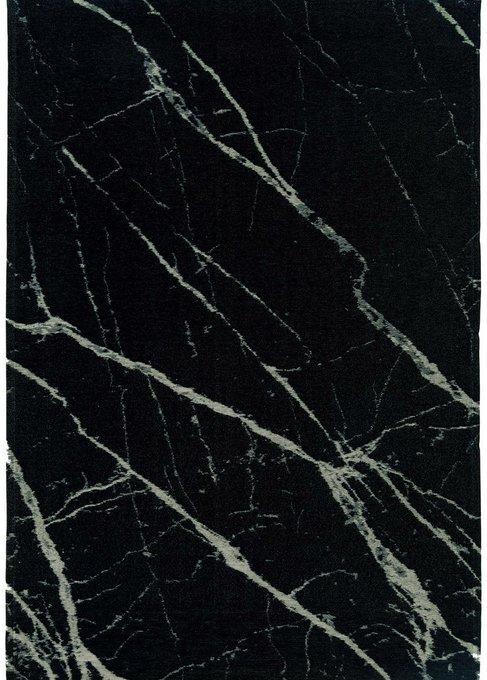 Ковер Pietra Black черного цвета 160х230