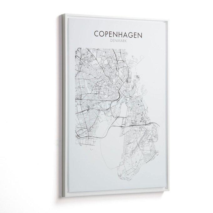 Картина Uptown Copenhague на холсте