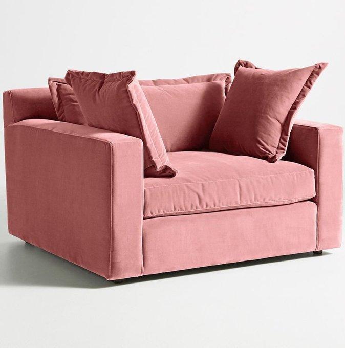 Кресло Katina Chair-and-a-Half pudra Р