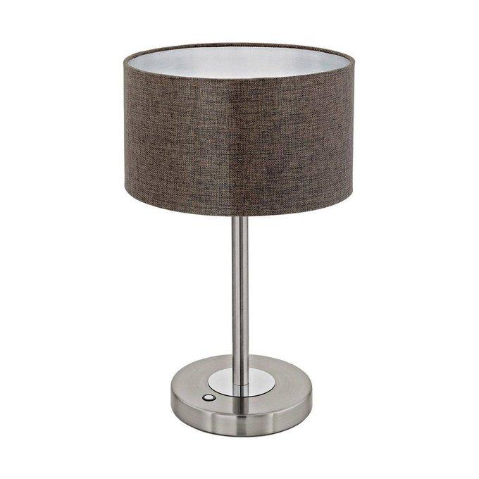 Настольная лампа Romao 2 коричневого цвета