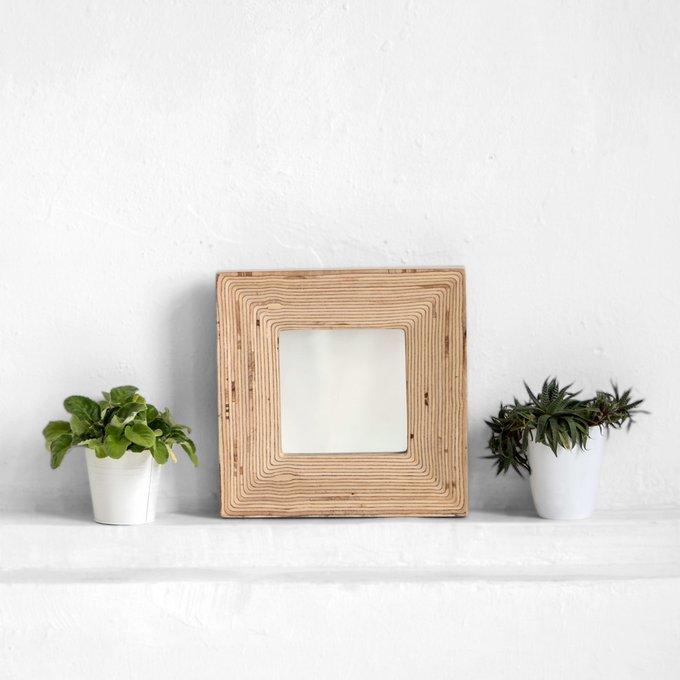 Зеркало Plyedge в натуральном цвете березы