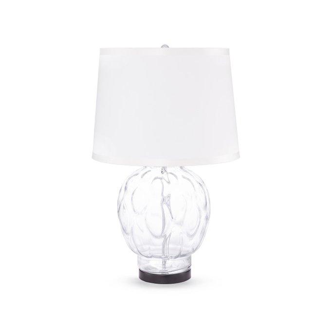 Лампа настольная Bubbles с белым плафоном