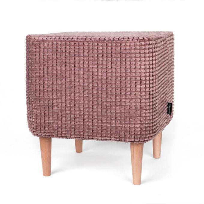 Пуф Азимут Civic Coral розового цвета