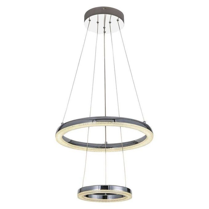 Подвесной светодиодный светильник Siggi из металла и пластика