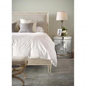 Кровать Shagreen Framed Upholstered Bed
