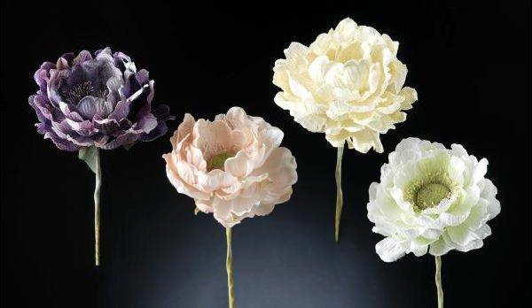 Искусственные цветы «Анемона»  из пластика