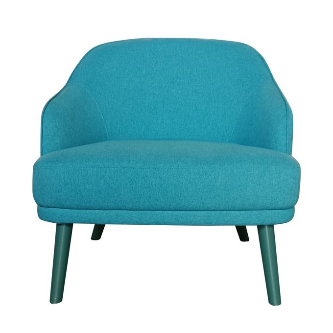 Кресло Lenne голубого цвета