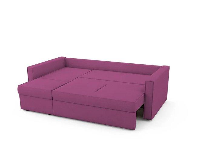 Угловой Диван-кровать Macao левый пурпурного цвета