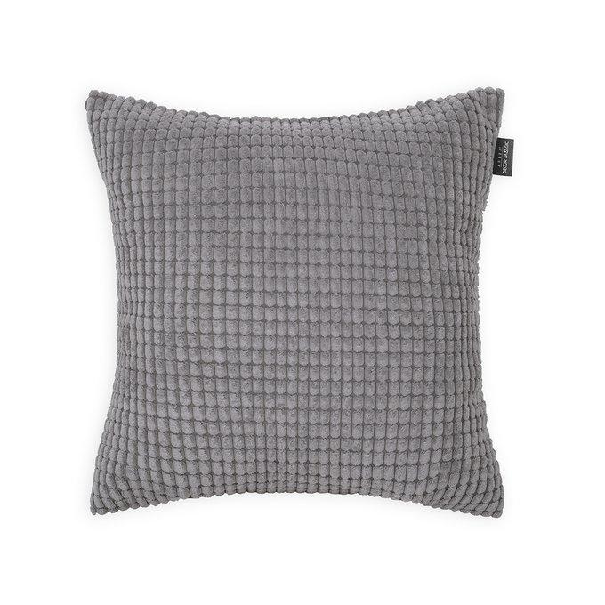 Декоративная подушка Civic Steel стального цвета