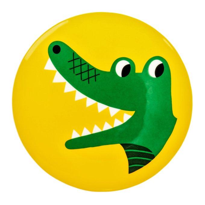 Тарелка Крокодильчик