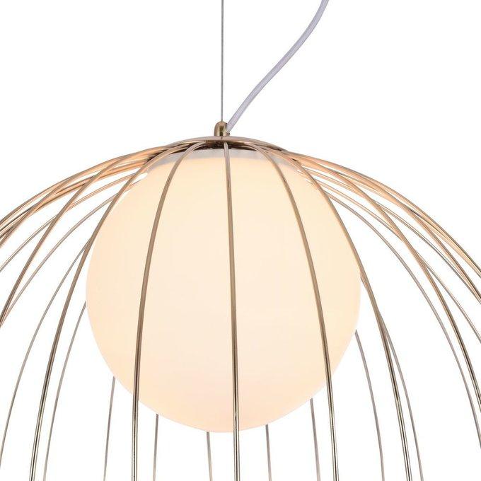 Подвесной светильник Pollyс плафоном из стекла