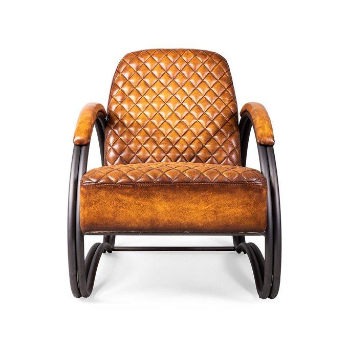 Кресло Stomellon коричневого цвета