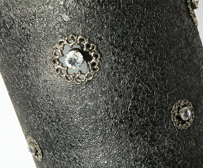 "Колонна из керамики черного цвета Sarri ""MYSTERE"""