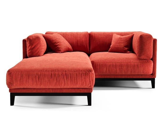 Диван Case красного цвета