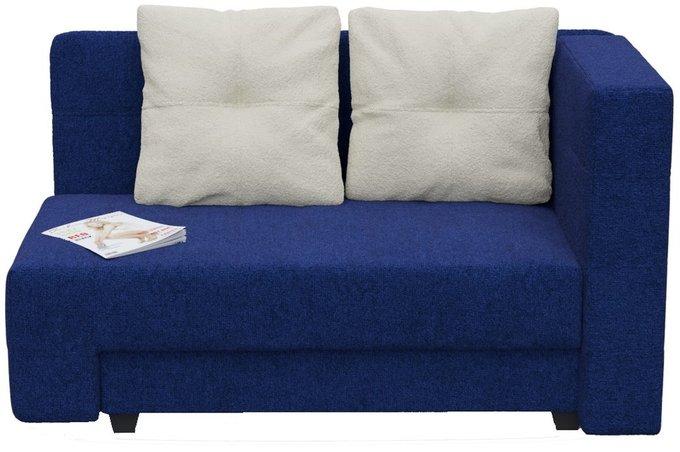 Диван-кровать прямой Корфу NEXT Астра синего цвета