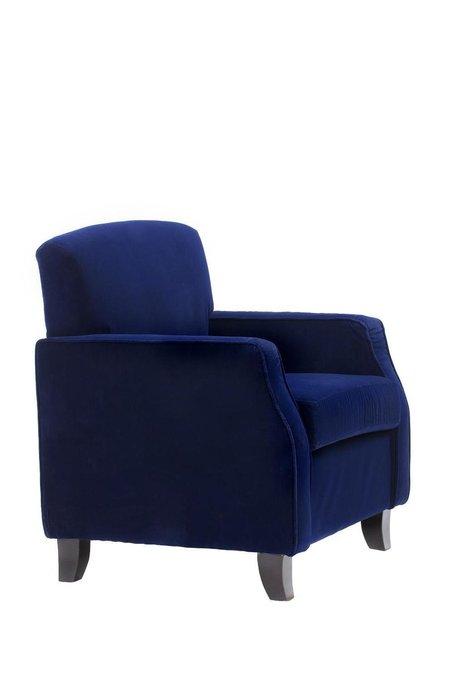Кресло Lloyd синего цвета