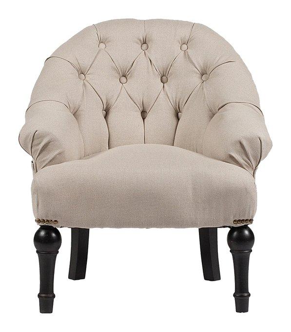Кресло Boheme бежевого цвета