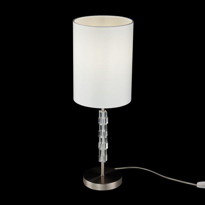 Настольная лампа Cube с белым абажуром