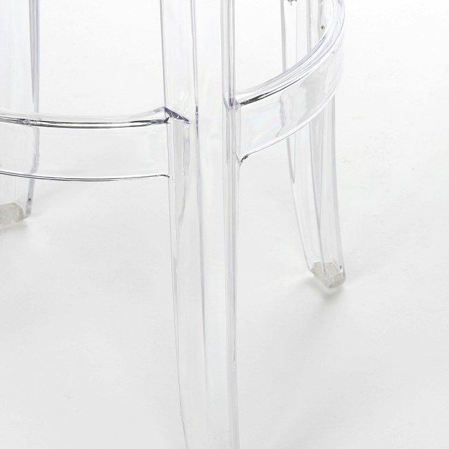 Барный стул Charles Ghost из пластика