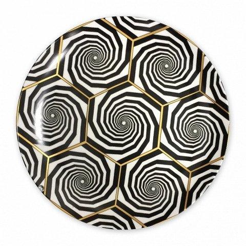 Блюдо Golden geometry