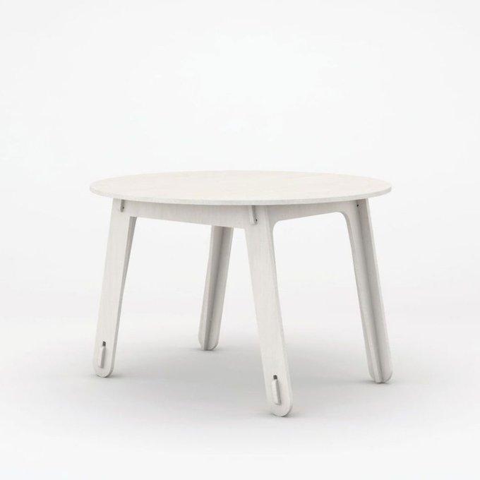 Стол playply ROUND рост: 115 – 130 см