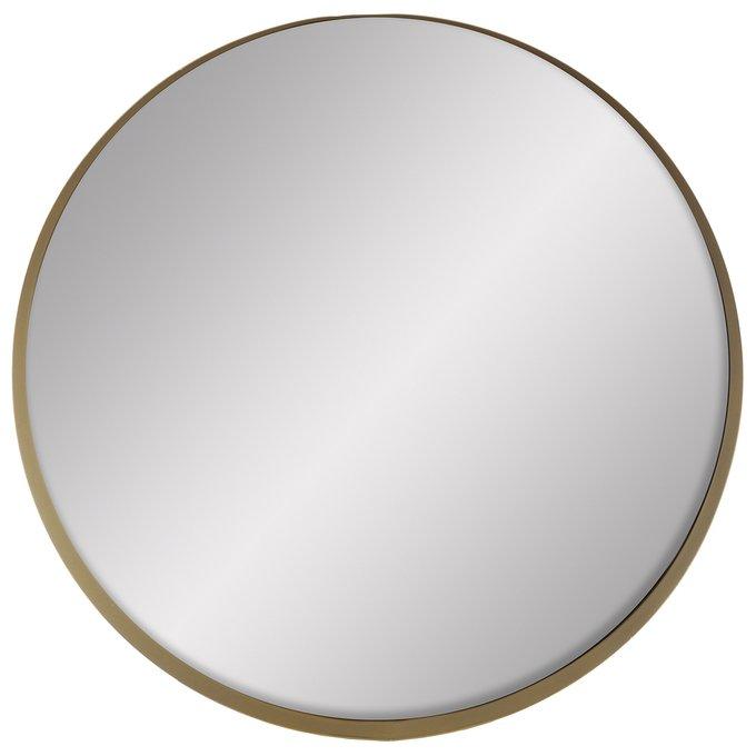 Зеркало настенное Прайм золотого цвета