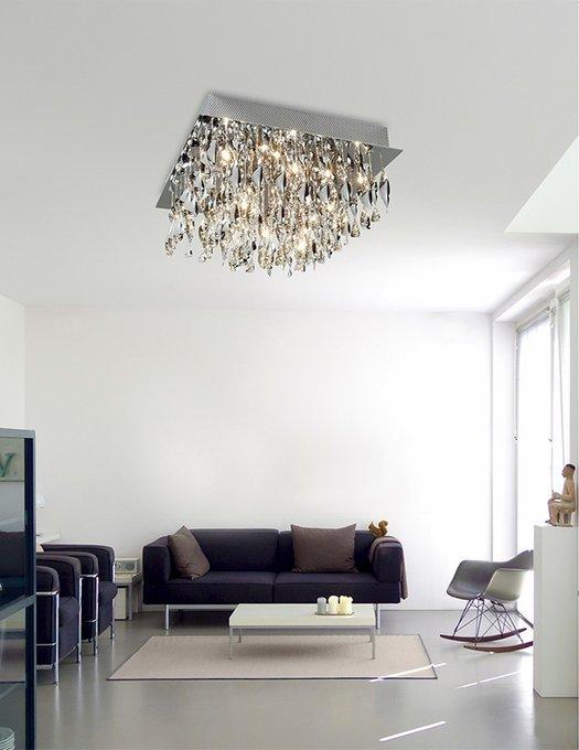 Потолочный светильник Illuminati со спиралями из матового стекла