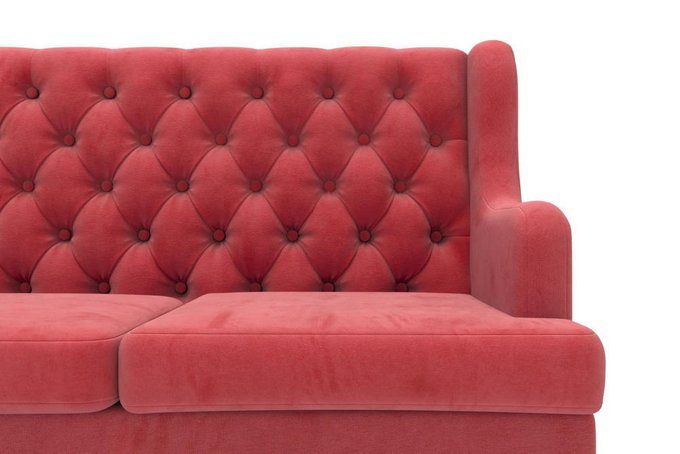 Диван Dublin трехместный красного цвета