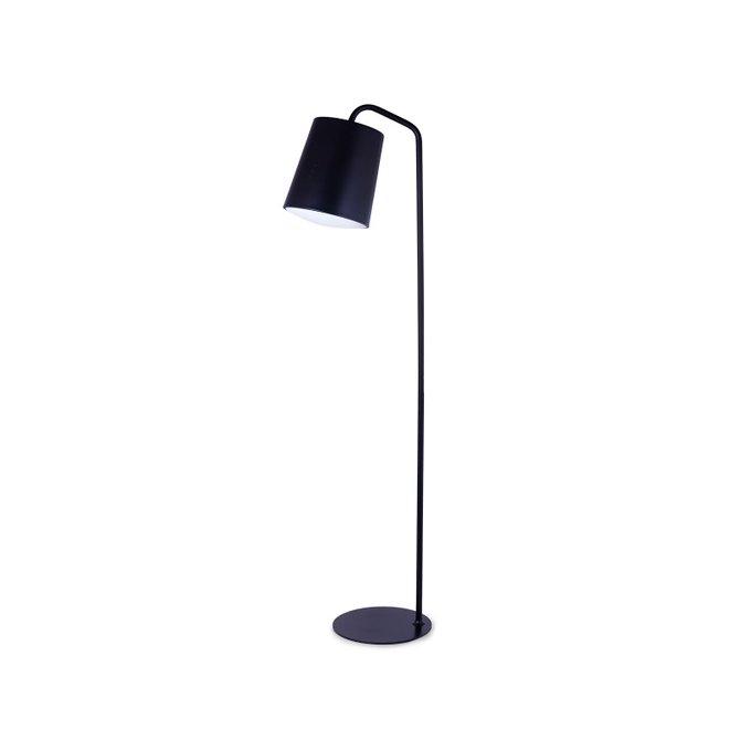 Светильник напольный Hide черного цвета