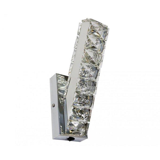 Бра Тор-Кристалл из металла и хрусталя