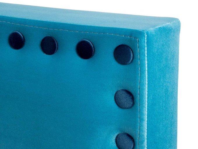"""Кровать """"Blues"""" с высокой спинкой и декоративными элементами 200х200"""