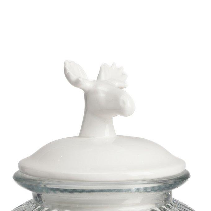 Декоративная банка с крышкой Deer Большая