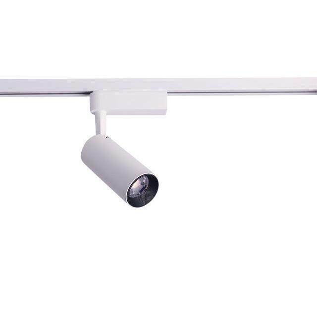 Трековый светодиодный светильник Profile Iris белого цвета