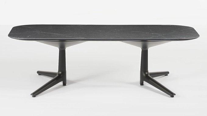 Журнальный стол Rectangular Multiplo XL черного цвета