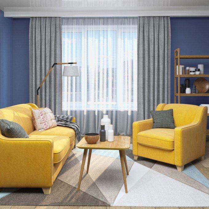 Диван-кровать Halston SFR сиреневого цвета