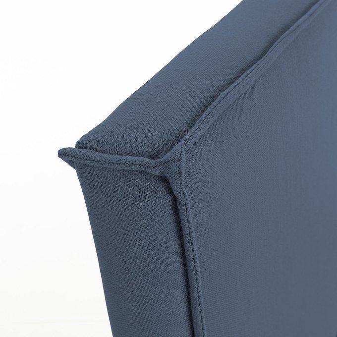 Кровать Этель 150х190 синего цвета