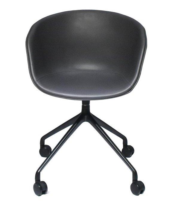 Кресло Hay Chair тёмно-серого цвета