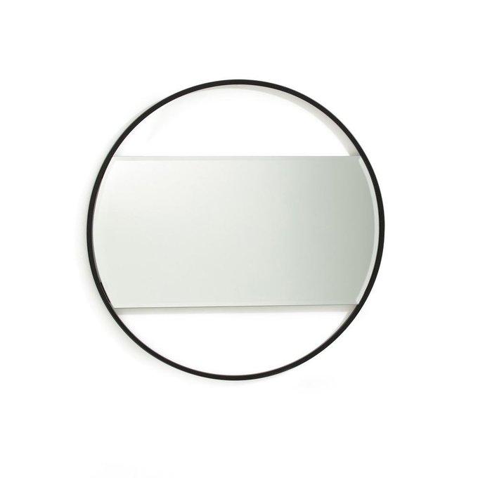 Настенное зеркало Reflet в черной раме