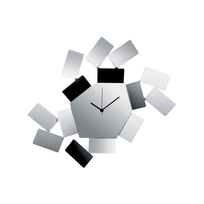 Часы настенные Stanza scirocco из нержавеющей стали