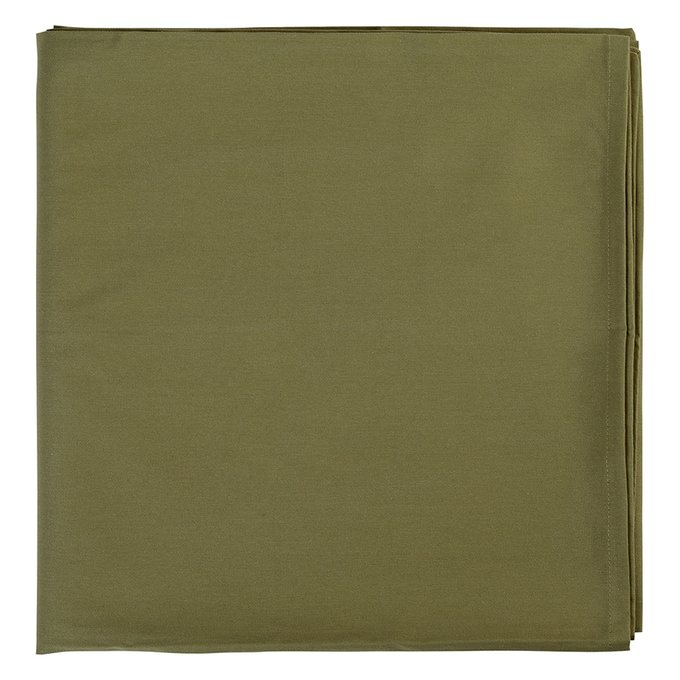 Скатерть на стол Wild оливкового цвета 170х250