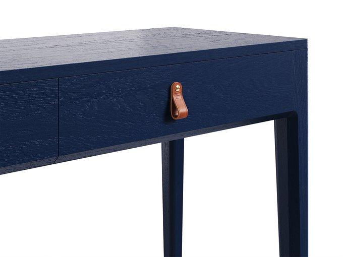 """консольный стол """"CASE"""" Темный кобальт"""