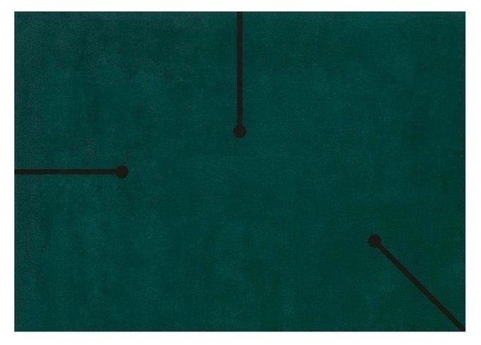 Ковер Fiumi зеленого цвета 200x300