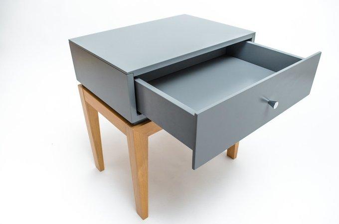 Прикроватная тумбочка One Static с выдвижным ящиком