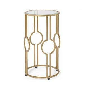 Столик CLAIRE ACCENT TABLE - GOLD