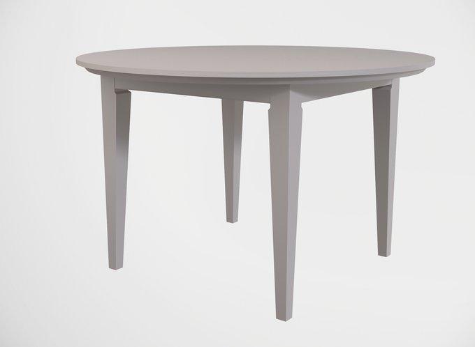 Стол обеденный раскладной Manhattan жемчужно-серого цвета