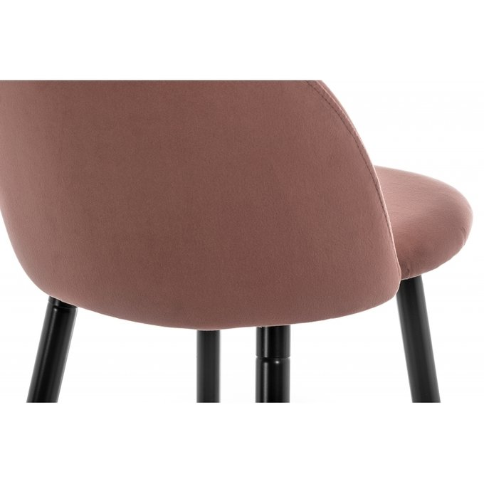Барный стул Dodo bar темно-розового цвета